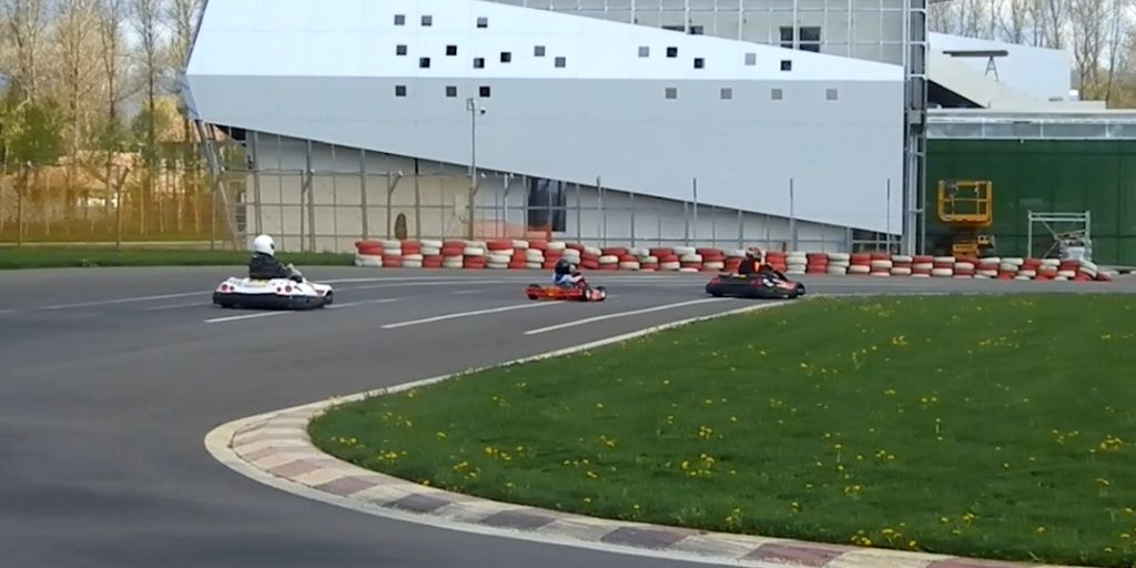 karting -pe circuit